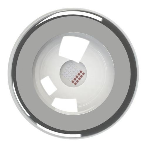 refletor iluminação piscina tholz - power led rgb 9w inox