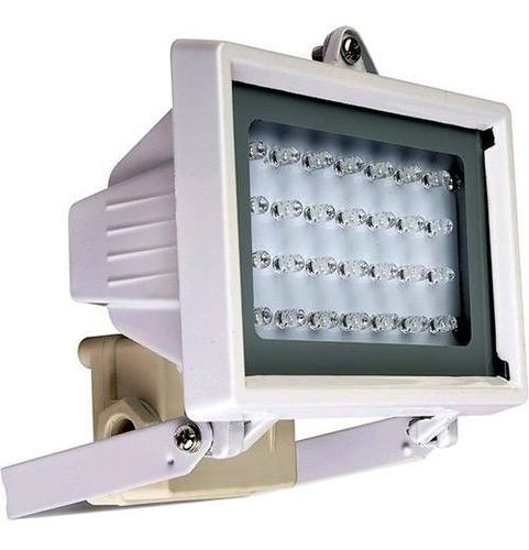 refletor key west de 28 leds branco
