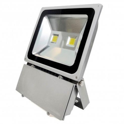 refletor led 100w - holofote branco frio bivolt prova d'agua