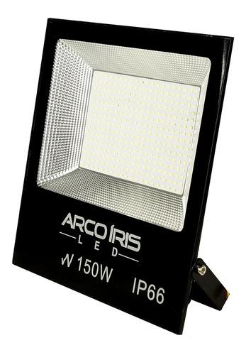 refletor led 150w smd microled branco frio slim bivolt ip66