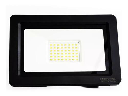 refletor led holofote 100w slim branco frio bivolt ip66