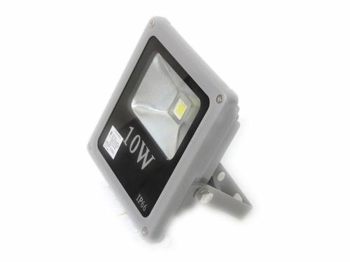 refletor led holofote 10w prova d'agua - rv iluminação