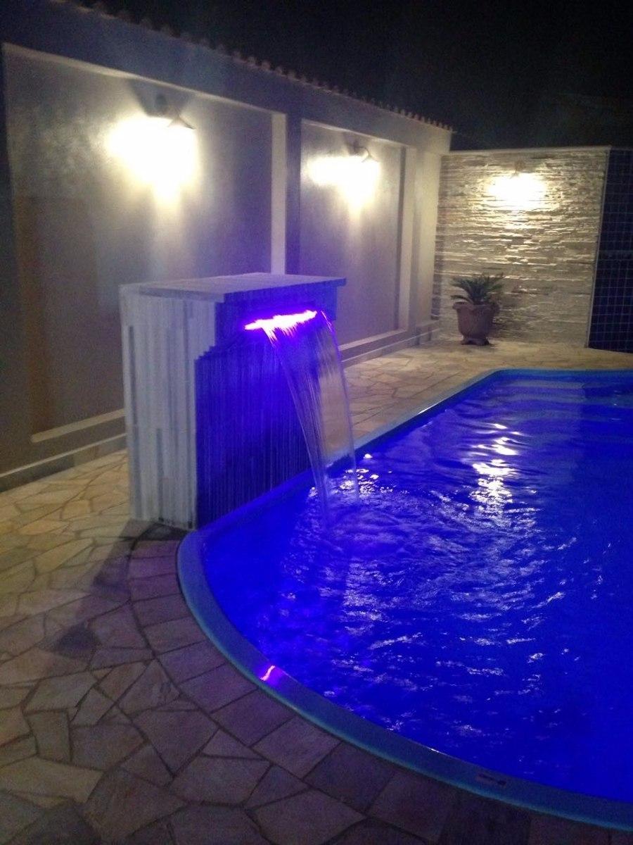 refletor led para cascatas de piscinas   resistente a gua
