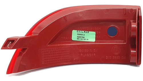 refletor parachoque traseiro ld direito strada 2014 - 2015