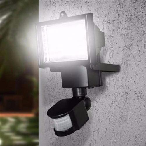 refletor solar 60 leds sensor movimento (pronta entrega)