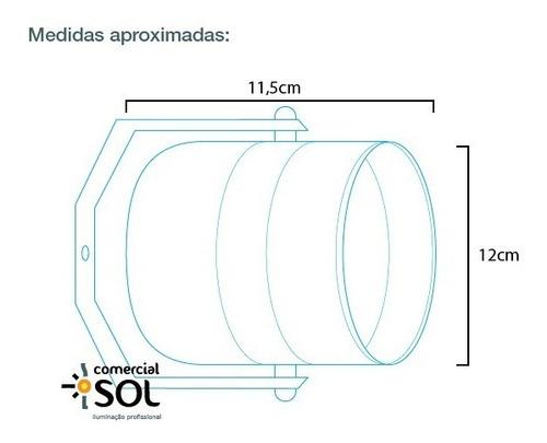 refletor tx polido pimbim par 36 led 12w para globo risco