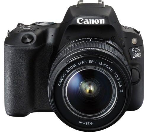 réflex digital canon eos 200d (sl2) + 18-55mm iii + 1 año de
