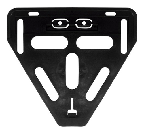 reforço suporte placa universal preto