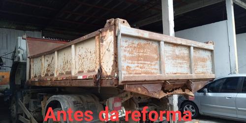 reforma de caçamba