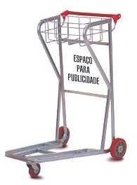 reforma de carrinho para supermercado, armazéns e aeroportos