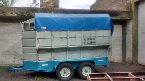 reforma de trailer,instalación de cigüeña, frenos electricos