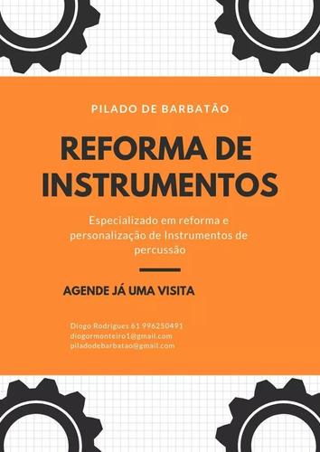 reforma e manutenção de instrumentos de percussão