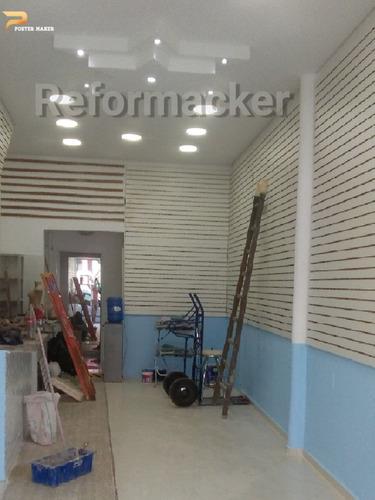 reforma e montagem de lojas