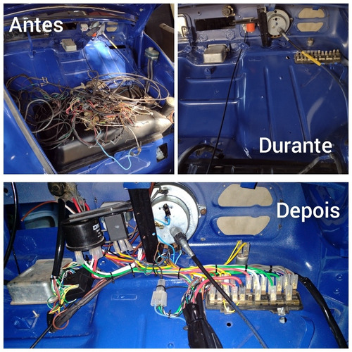 reforma elétrica veículos antigos