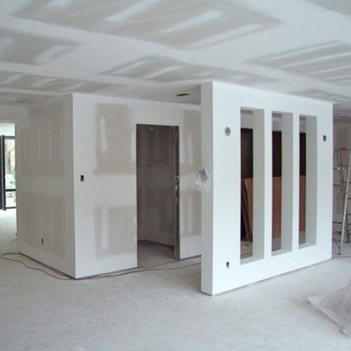 reformas con yeso y construcción de casas en steel framing
