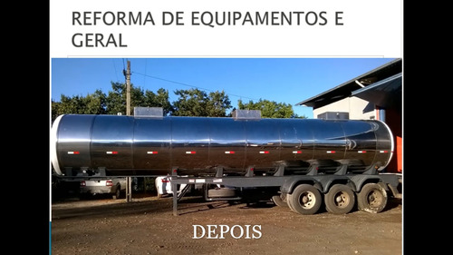 reformas e manutenção de tanques rodoviários em geral