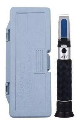 refractometro atc con caja plástica de salinidad 0%-100%