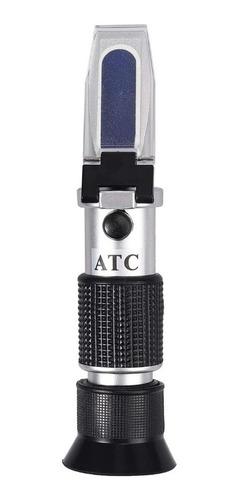 refractometro de miel atc 58-90% brix 38-43° baume 12-27%