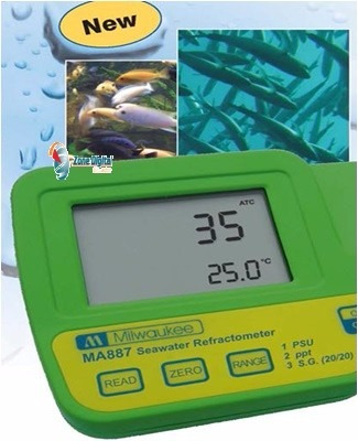 refractómetro digital de salinidad ma887