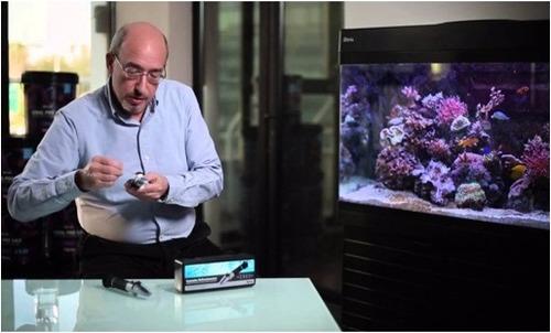 refractometro para medir la concentracion de sal en acuarios