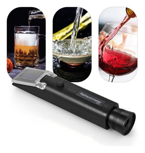 refractómetro portátil de alcohol atc refratómetro de mano