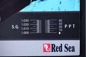 refractómetro profesional red sea