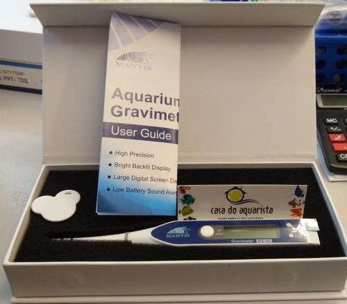 refratometro digital de salinidade mantis aquarium