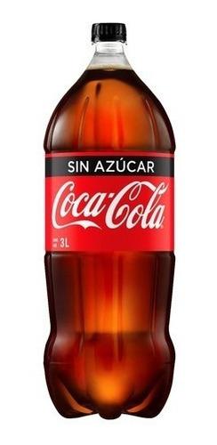 refresco coca cola 3 litros sin azucar