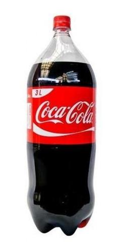 refresco coca cola 3 lts - descartable