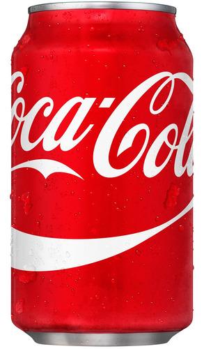 refresco coca cola sabor original 24 latas importado de usa