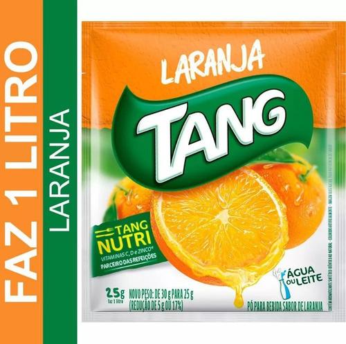refresco em pó de laranja tang 25g