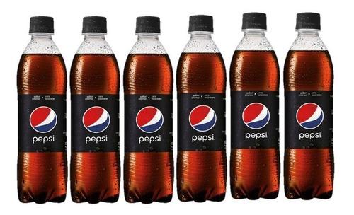 refresco pepsi black 500 ml pack x6