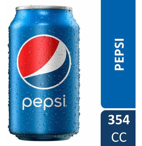 refresco pepsi lata 354 ml.  $ 20 cada lata