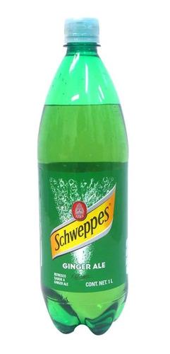 refresco schweppes sabor ginger ale botella de 1 l