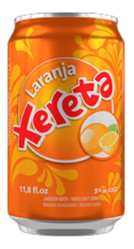 refresco xereta sabor naranja lata 350ml funda x6u