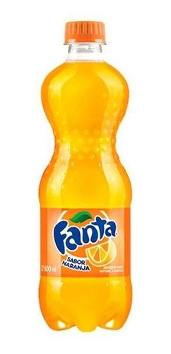 refrescos coca cola - fanta - sprite 600 cc x 2 unidades