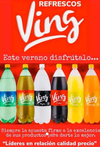 refrescos ving busca distribuidor san josé