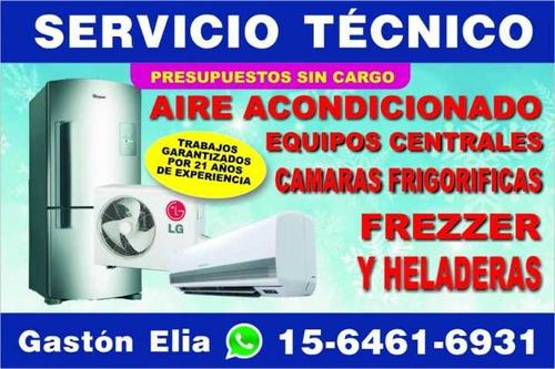 refrigeración aires acondicionados servicio tecnico