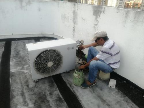 refrigeración comercial-doméstica mantenimiento instalación.
