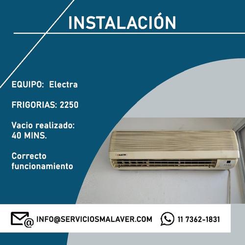 refrigeración de aire acondicionado y heladeras
