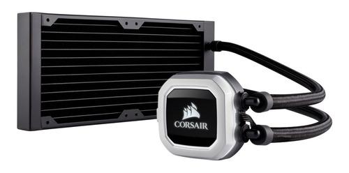 refrigeracion liquida corsair h100i pro rgb 240mm