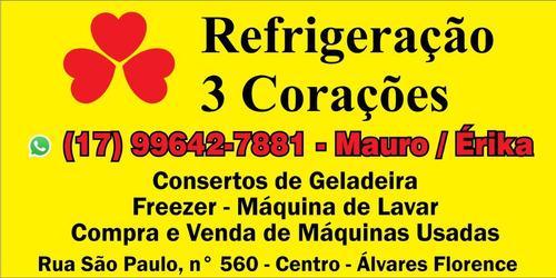 refrigeração 3 corações - consertos de máquinas e geladeiras