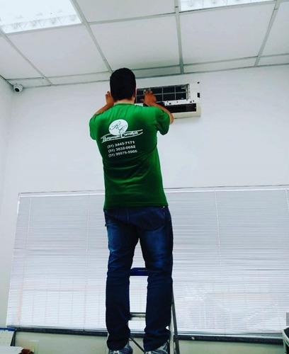 refrigeração carvalhais - instalação e higienização ar cond