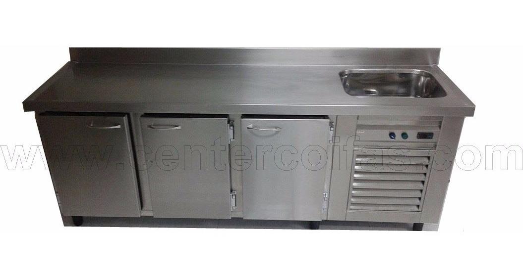 Balcao Refrigerado Com Pia Sob Medida R 5 500 00 Em Mercado Livre