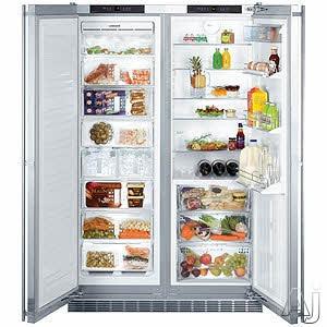 refrigerador 48 premium liebherr mod sbs243 para empotrar