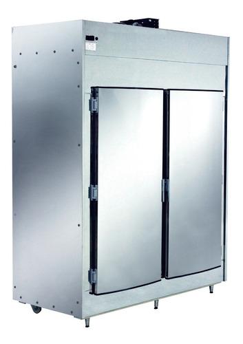 refrigerador açougue gancheira 800kg aço inox polofrio 2,00m