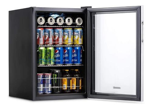 refrigerador bebidas newair ab850 acero inoxidable 84 latas