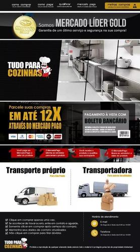 refrigerador comercial 4 portas conservex rc4