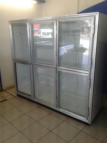 refrigerador comercial 6 ptas. nieto