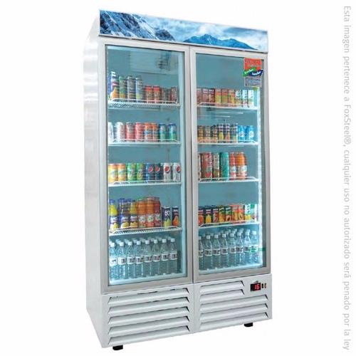 refrigerador comercial  asber armd-47-sd deslizables 47ft